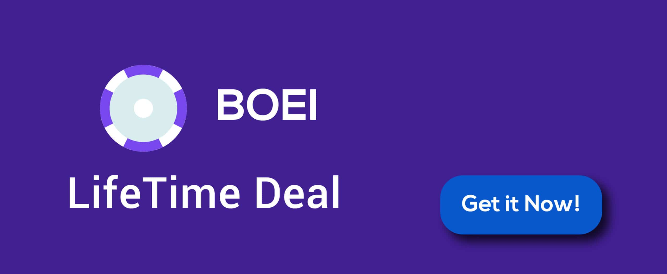 Boei Lifetime Deal | With Reviews 2021