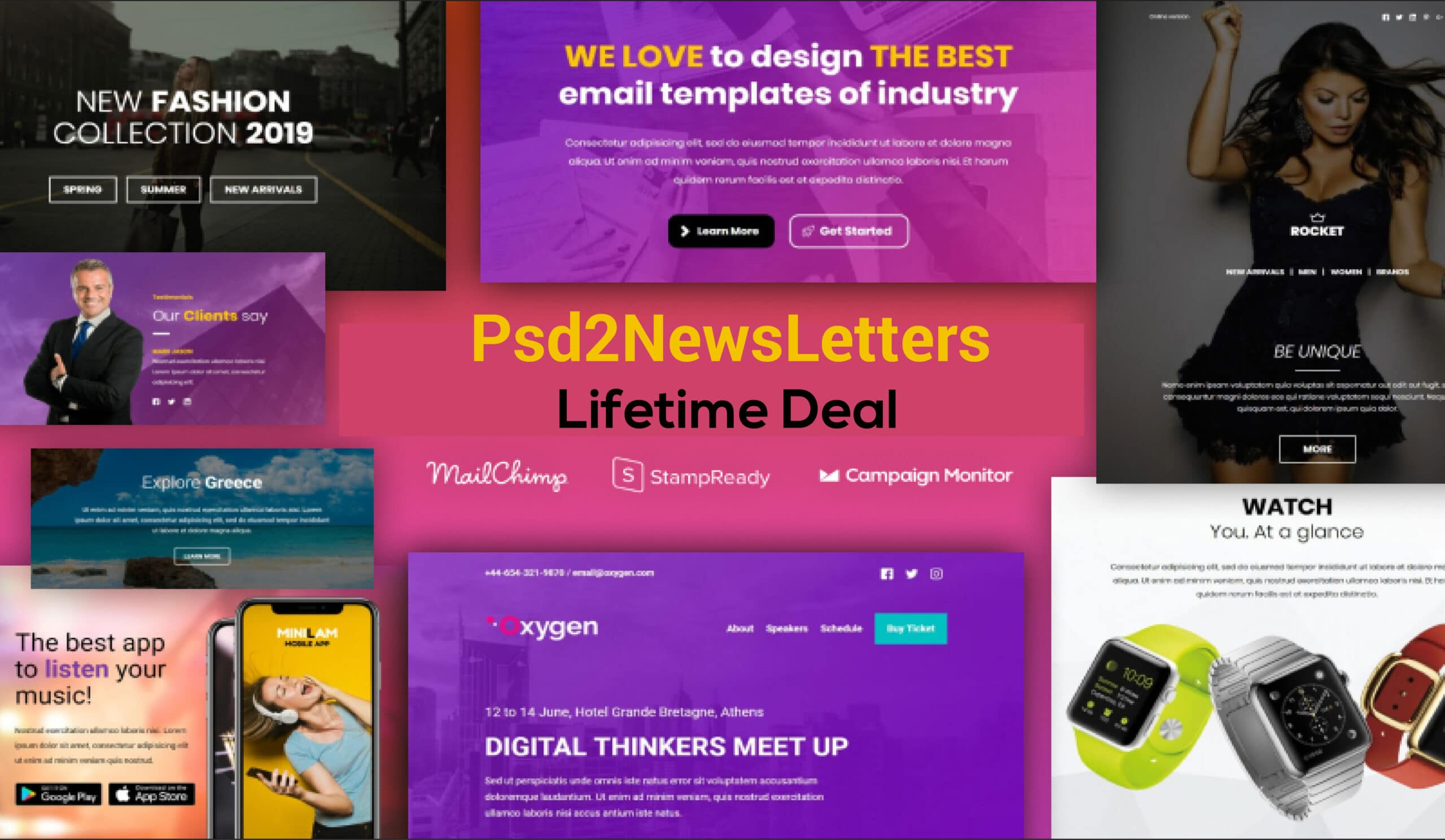 Psd2Newsletters Lifetime Deal
