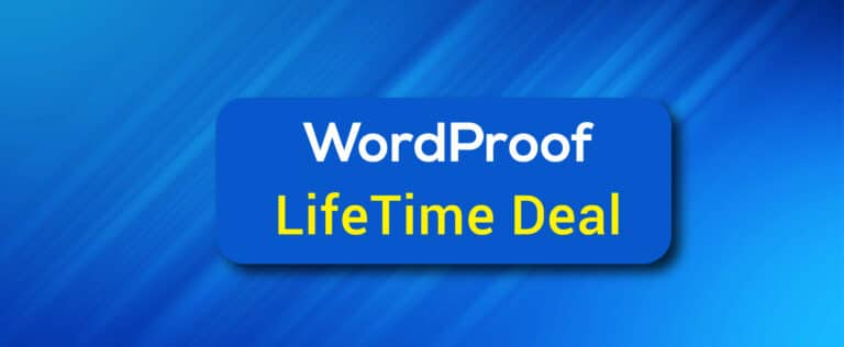 WordProof Lifetime Deal