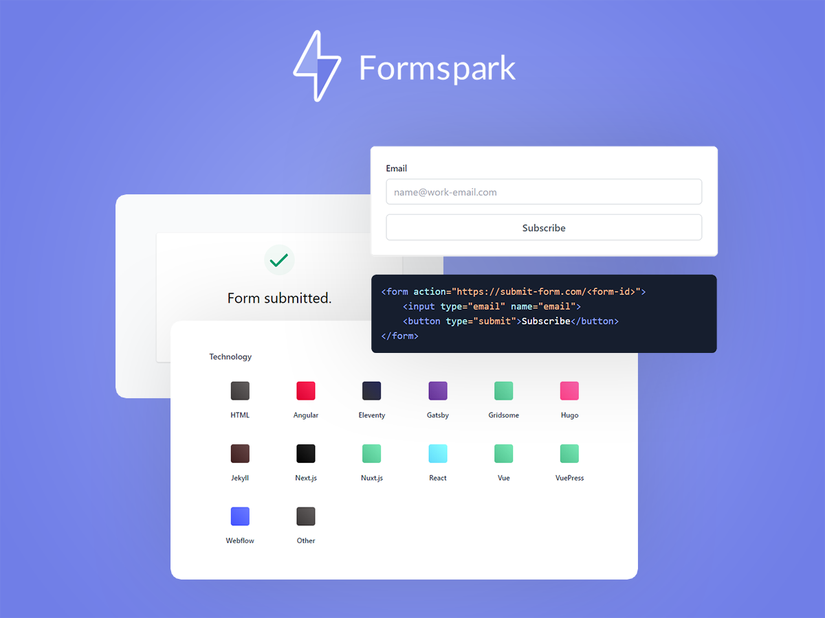 formspark deal page